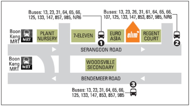 L Elim Map
